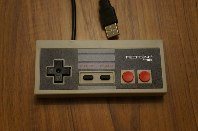 The RetroLink NES controller.