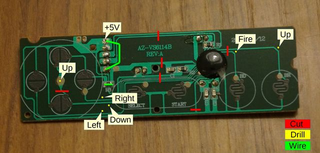PCB modifications.